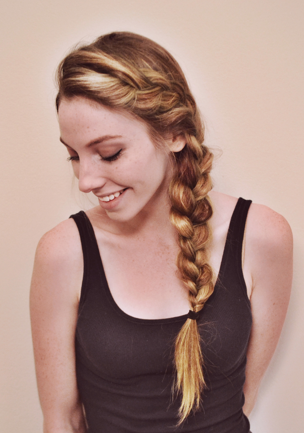 Pleasing Side Braid Chic Now Hairstyle Inspiration Daily Dogsangcom