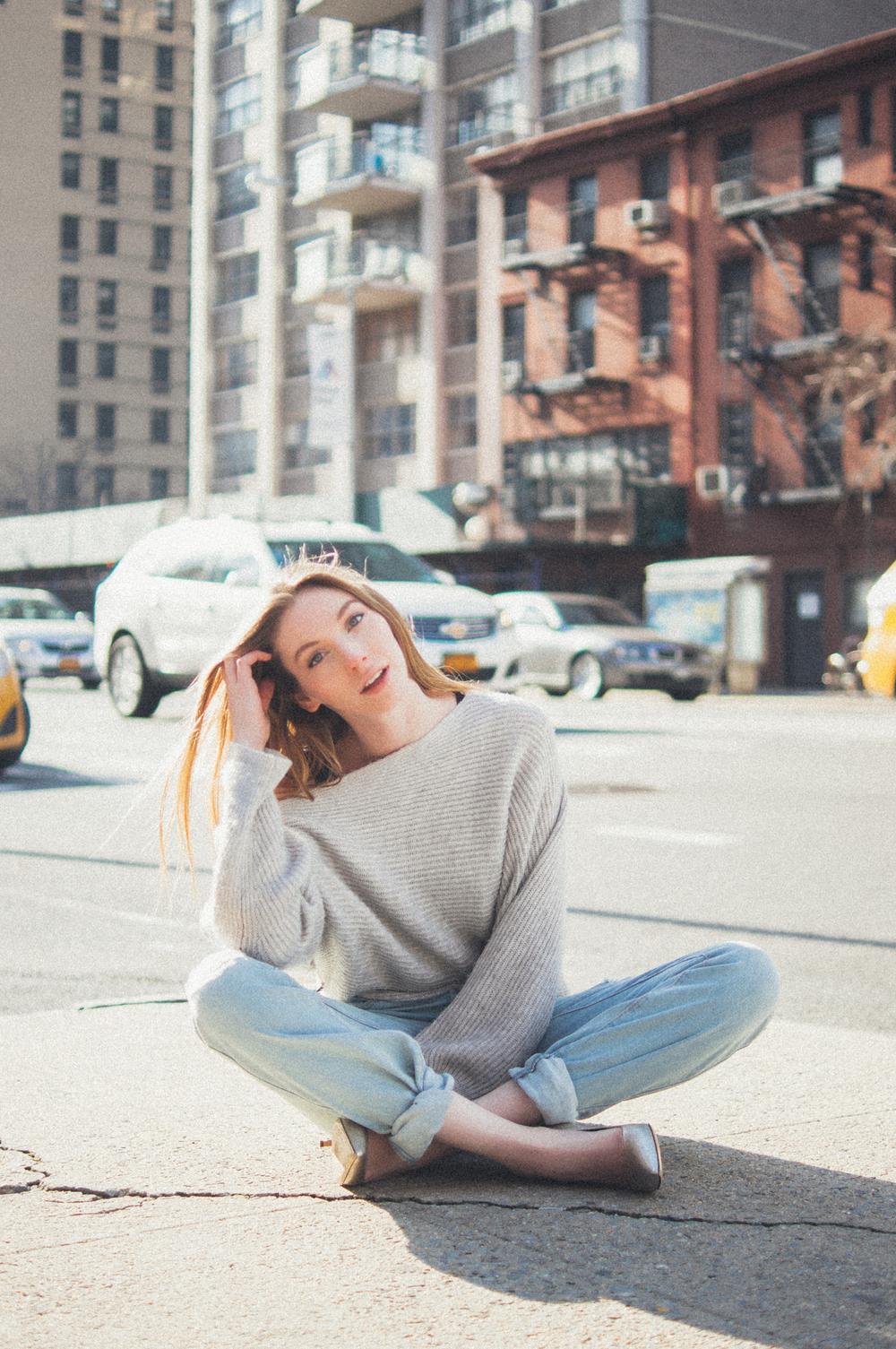 Boyfriend Jeans & Heels | Girl x Garment