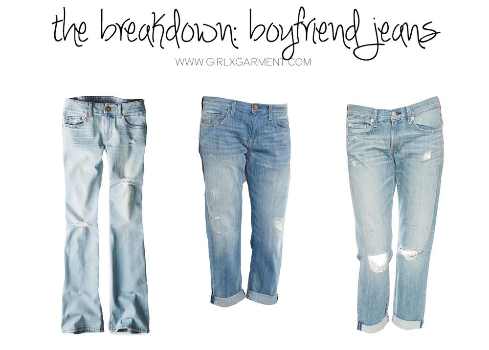 Boyfriend Jeans | Girl x Garment