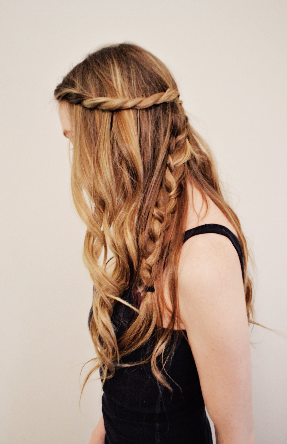 Game of Thrones Daenerys Inspired Half-Up Hair | Girl x Garment