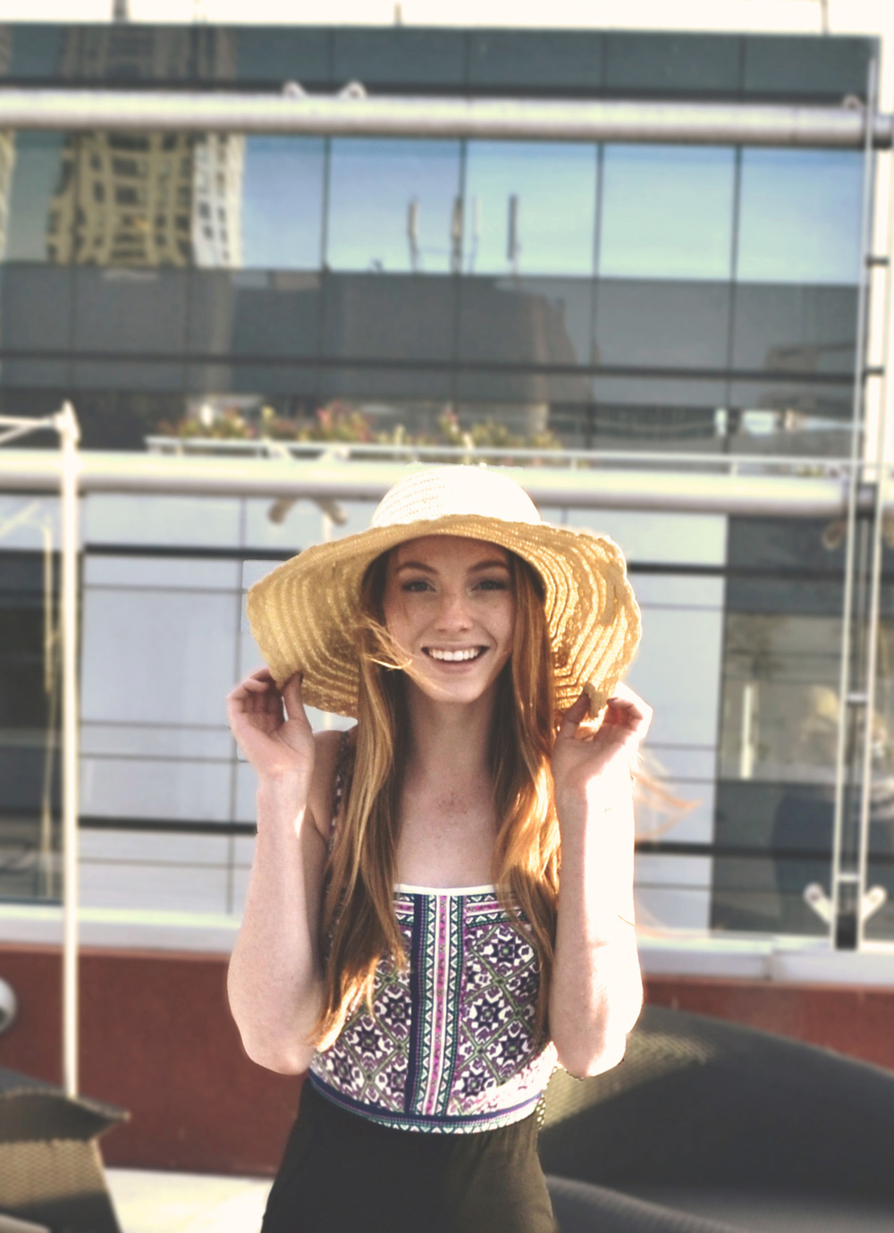 One-Piece & Sun Hat | Girl x Garment