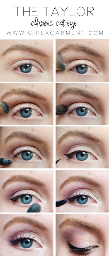 Taylor Swift Cat Eye Tutorial | www.girlxgarment.com
