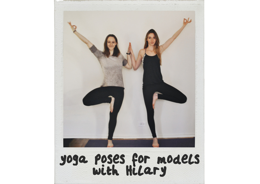 Yoga Poses for Models | Girl x Garment