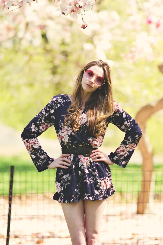 Floral Romper | Girl x Garment