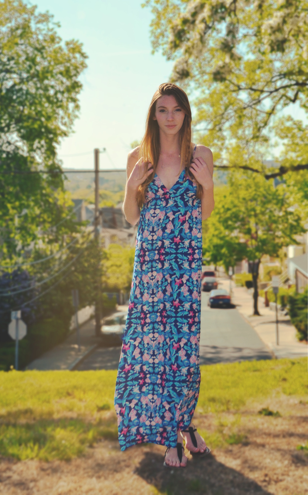Blue Maxi | Girl c Garment
