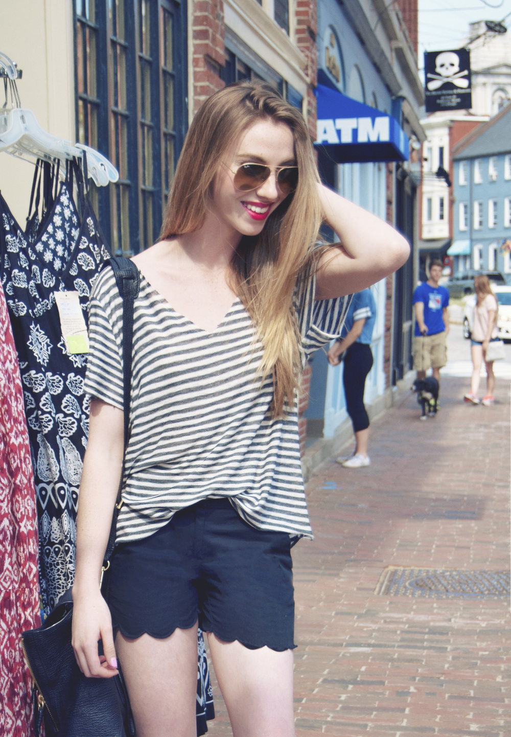Scallops & Stripes | Girl x Garment