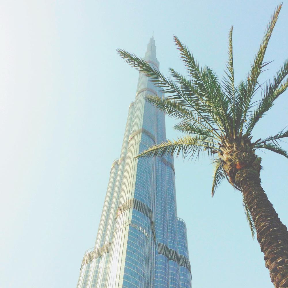 Dubai, Burj Khalifa (via Girl x Garment)
