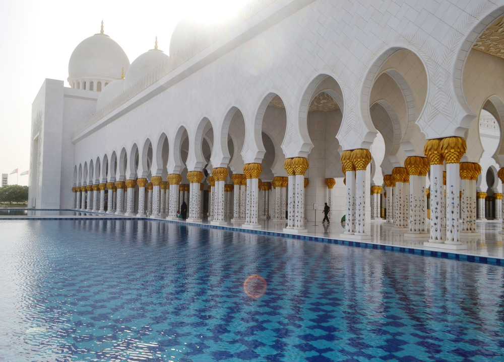Grand Mosque, Abu Dhabi (via Girl x Garment)