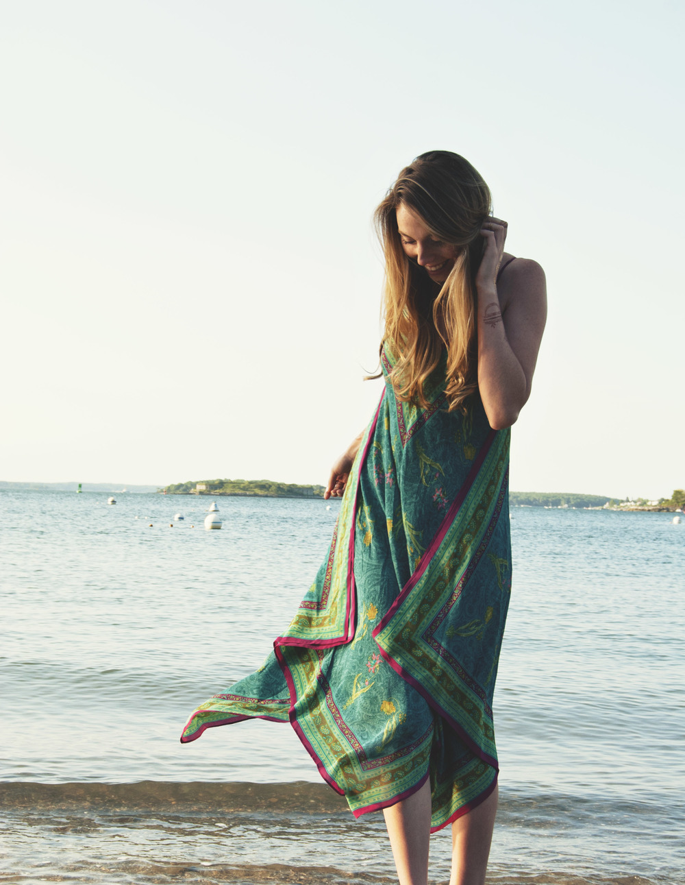 Breezy Anthropologie Scarf Dress (via Girl x Garment)