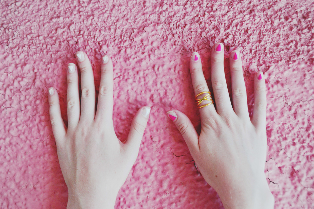 Boho Festival Nail Art (via Girl x Garment)