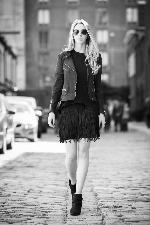 Fringe Skirt (via Girl x Garment)