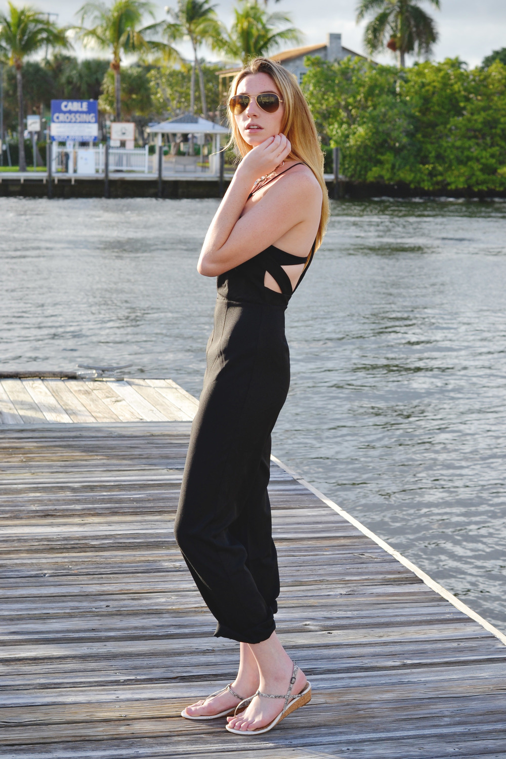 Blogger Black Jumpsuit (via Girl x Garment)