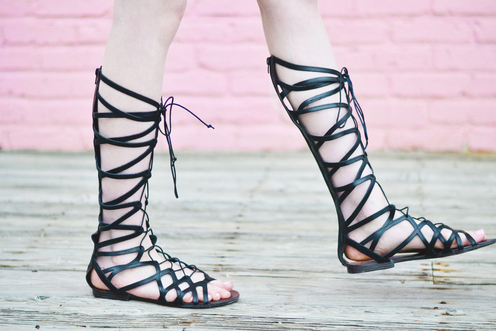 Gladiator Sandals (via Chic Now)