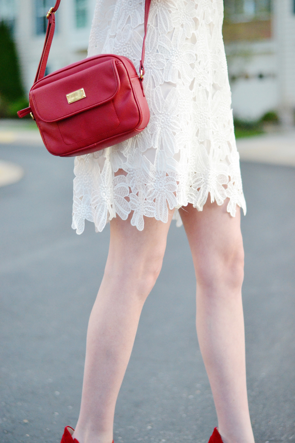 LWD & Red Heels (via Chic Now)