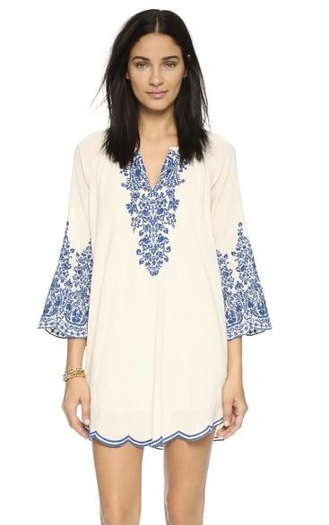Love Sam Embroidered Dress