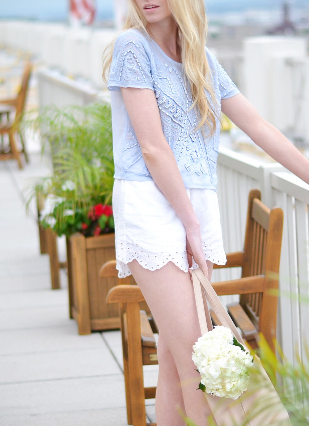 Daycation Beaded Top (via Chic Now)