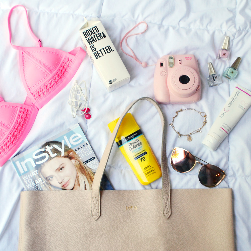 Beach Vacation Essentials (via Chic Now)