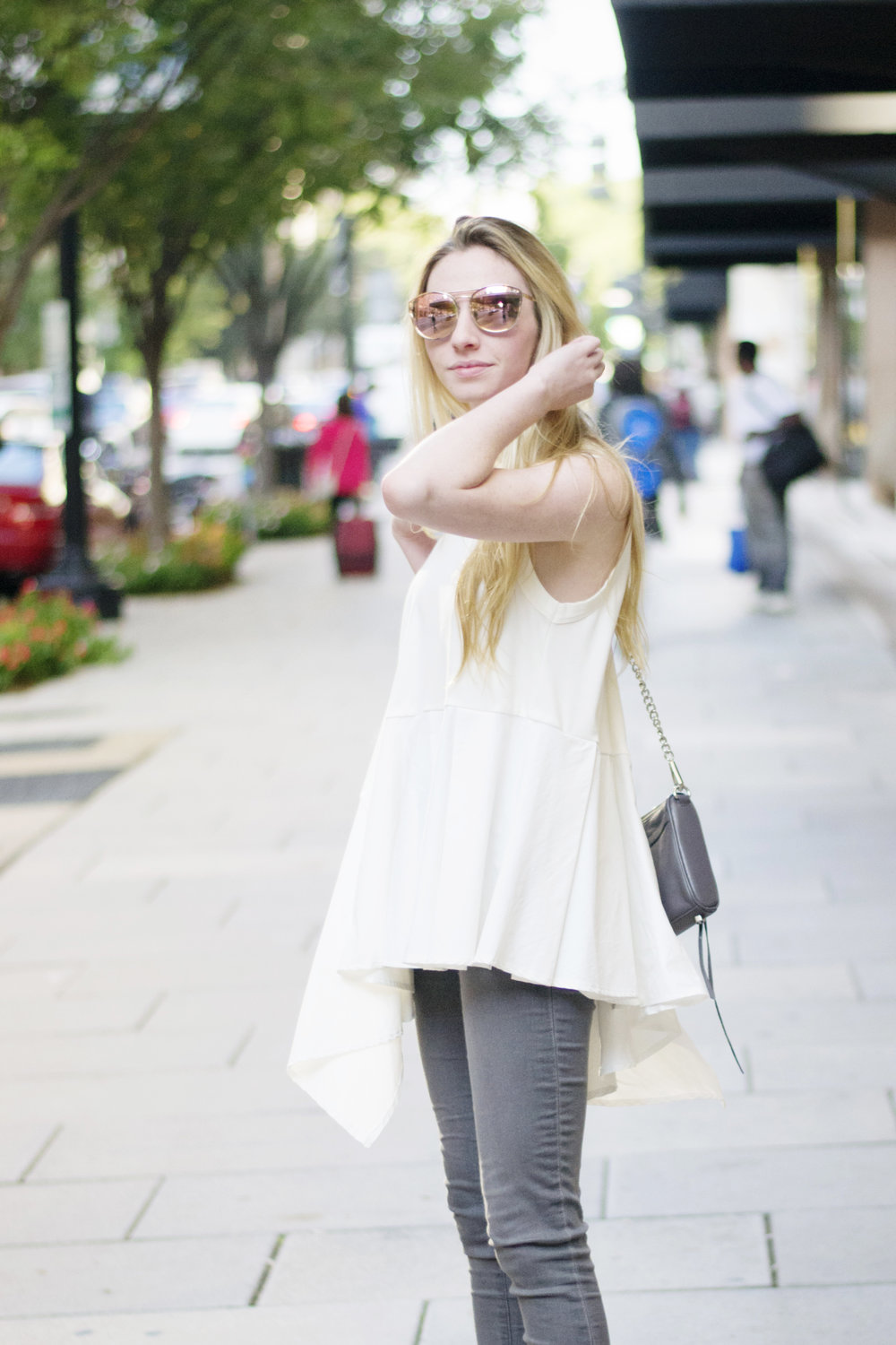 Ruffled Tank Top (via Chic Now)