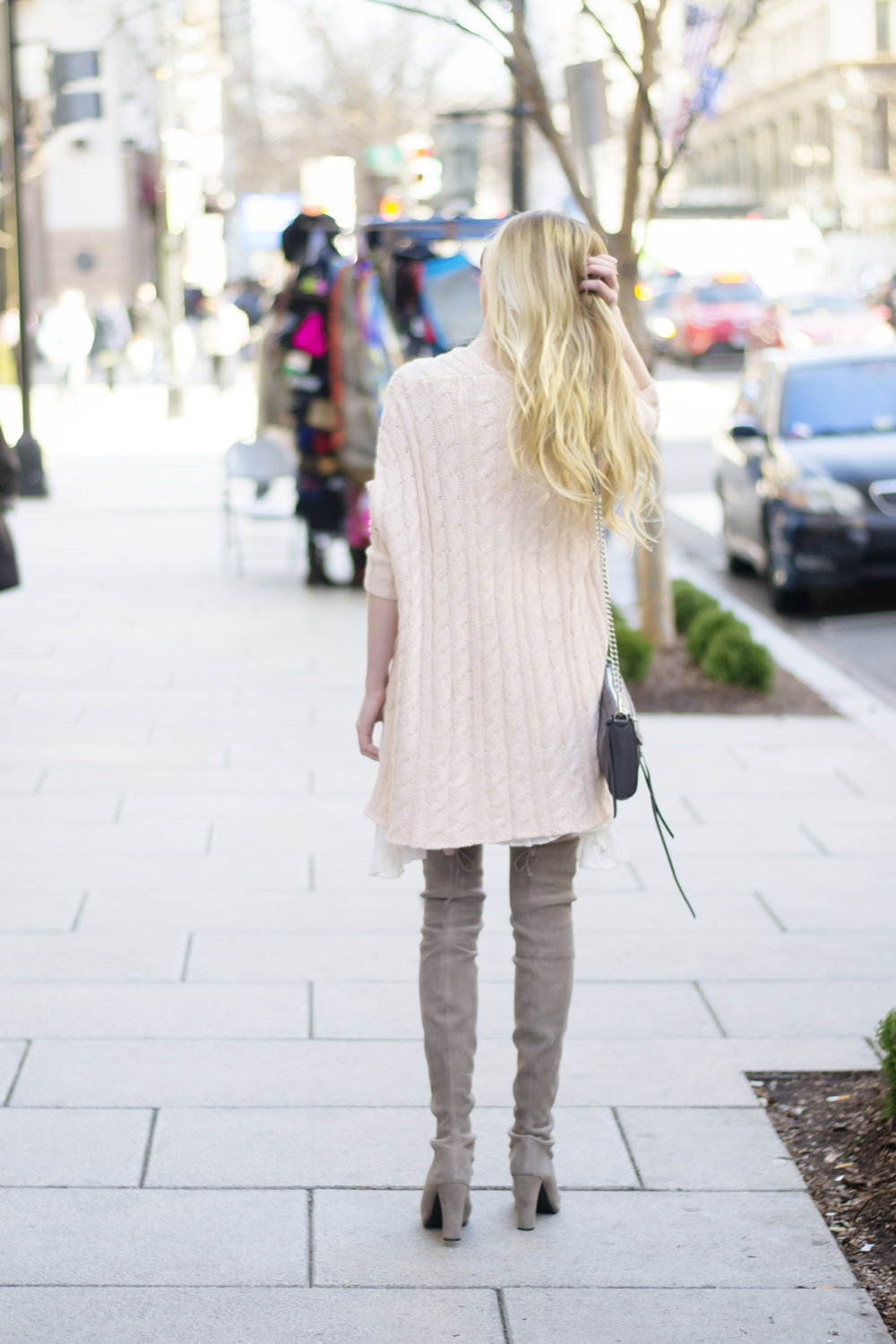 Blush Pink Free People Sweater