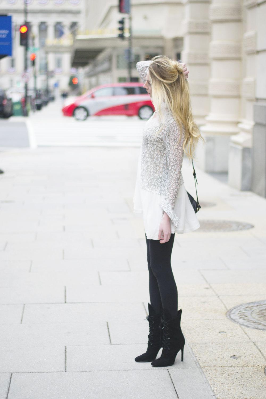 Feminine Street Style Winter Blogger