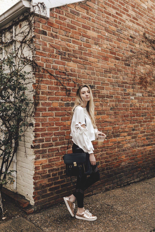 Athleisure Street Style Blogger