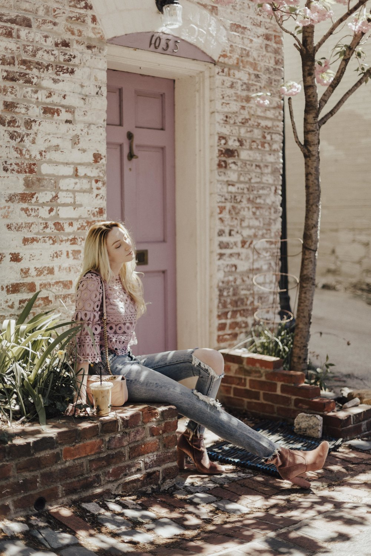Feminine Blogger Style