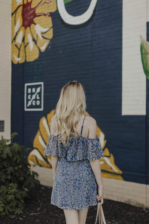 Blogger Summer Sundress Outfit