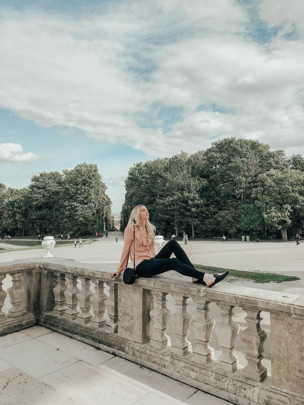 Style Blogger Pink Ruffle
