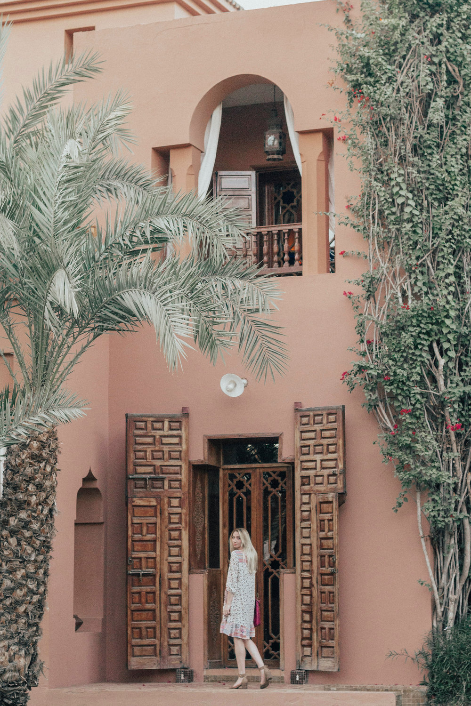 Style blogger. Marrakech, Morocco