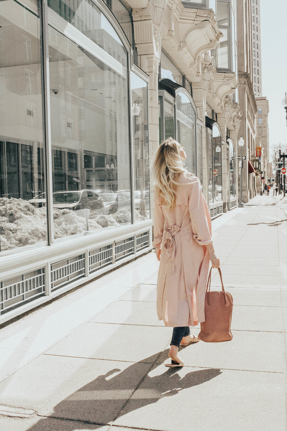 Light Pink Spring Coat