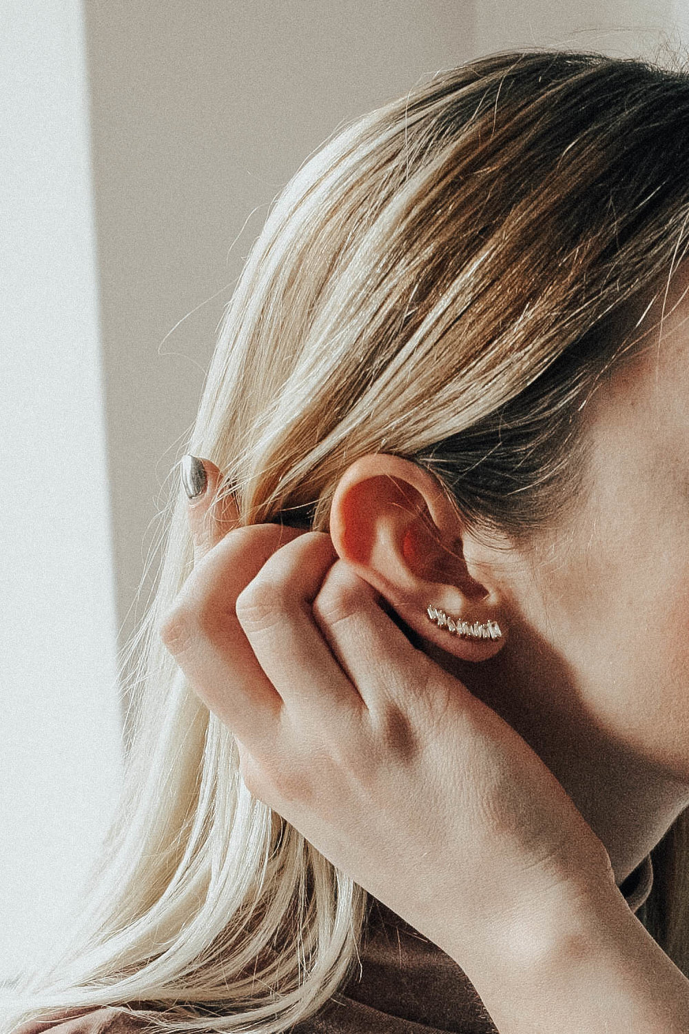 Delicate Ear Climbers | @maevestier