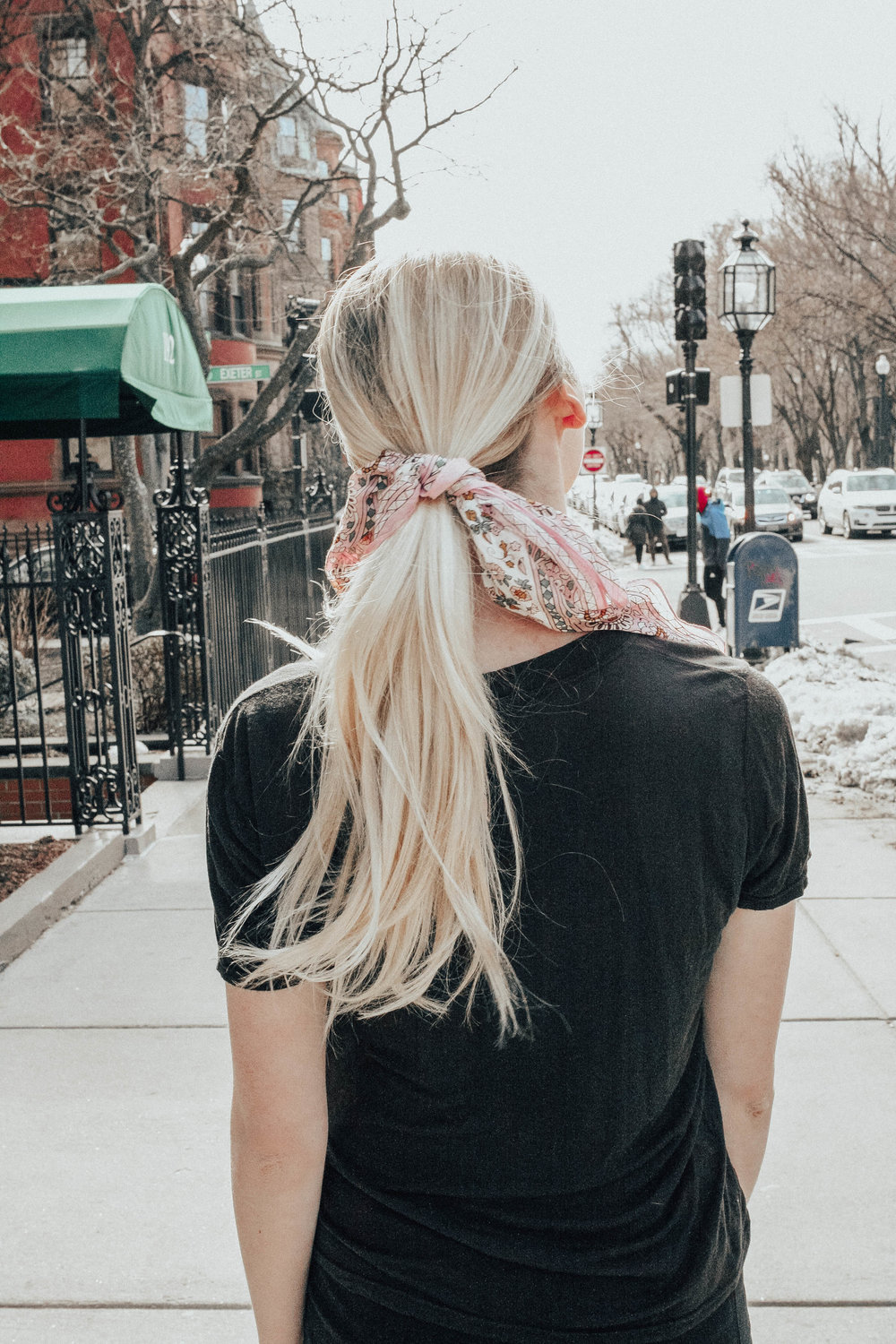 Scarf in Hair | @maevestier