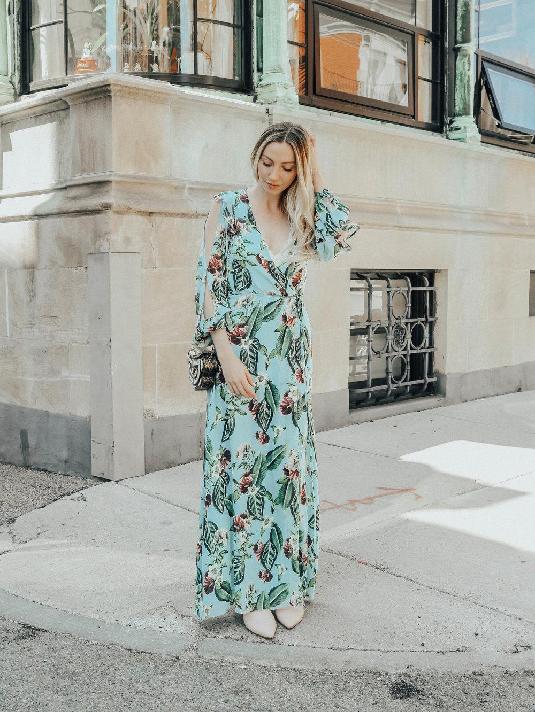 Long Sleeve Maxi Dress | @maevestier