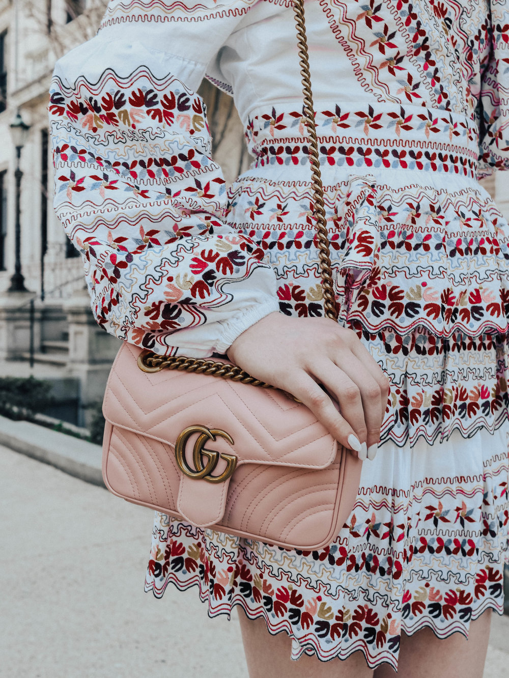 Embroidered Spring Dress | @maevestier