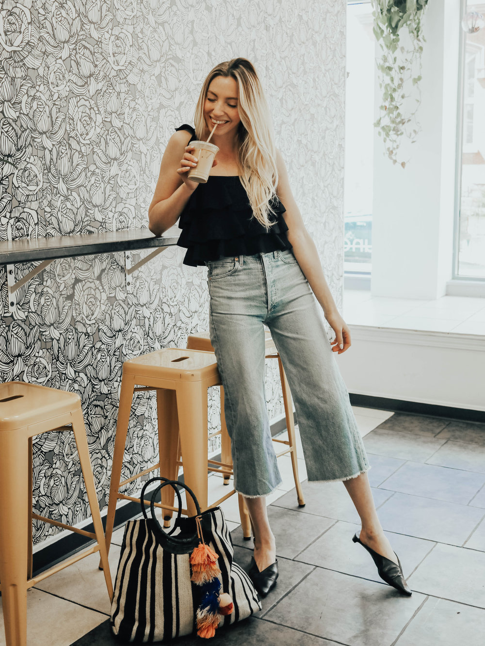 Cropped Jeans Outfit | @maevestier