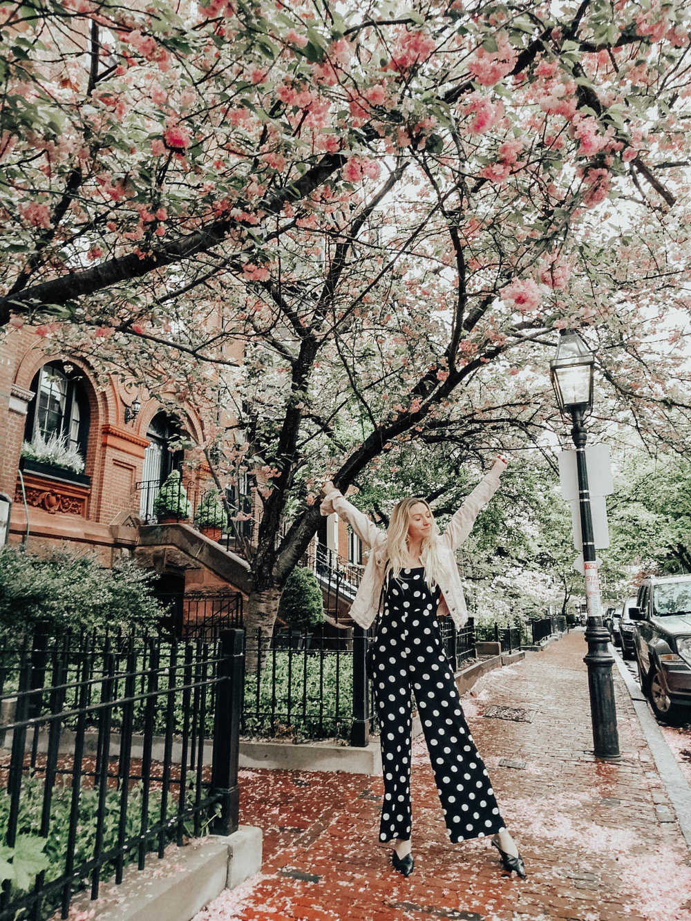 Polka Dot Summer Outfit | @maevestier