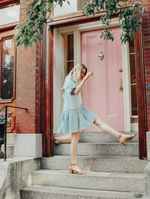 Summer Eyelet Dress | @maevestier