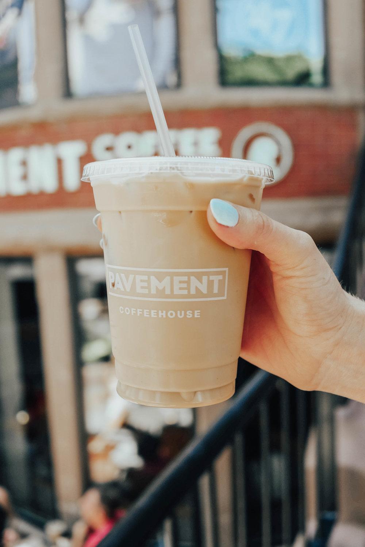 Pavement Coffee Newbury | @maevestier