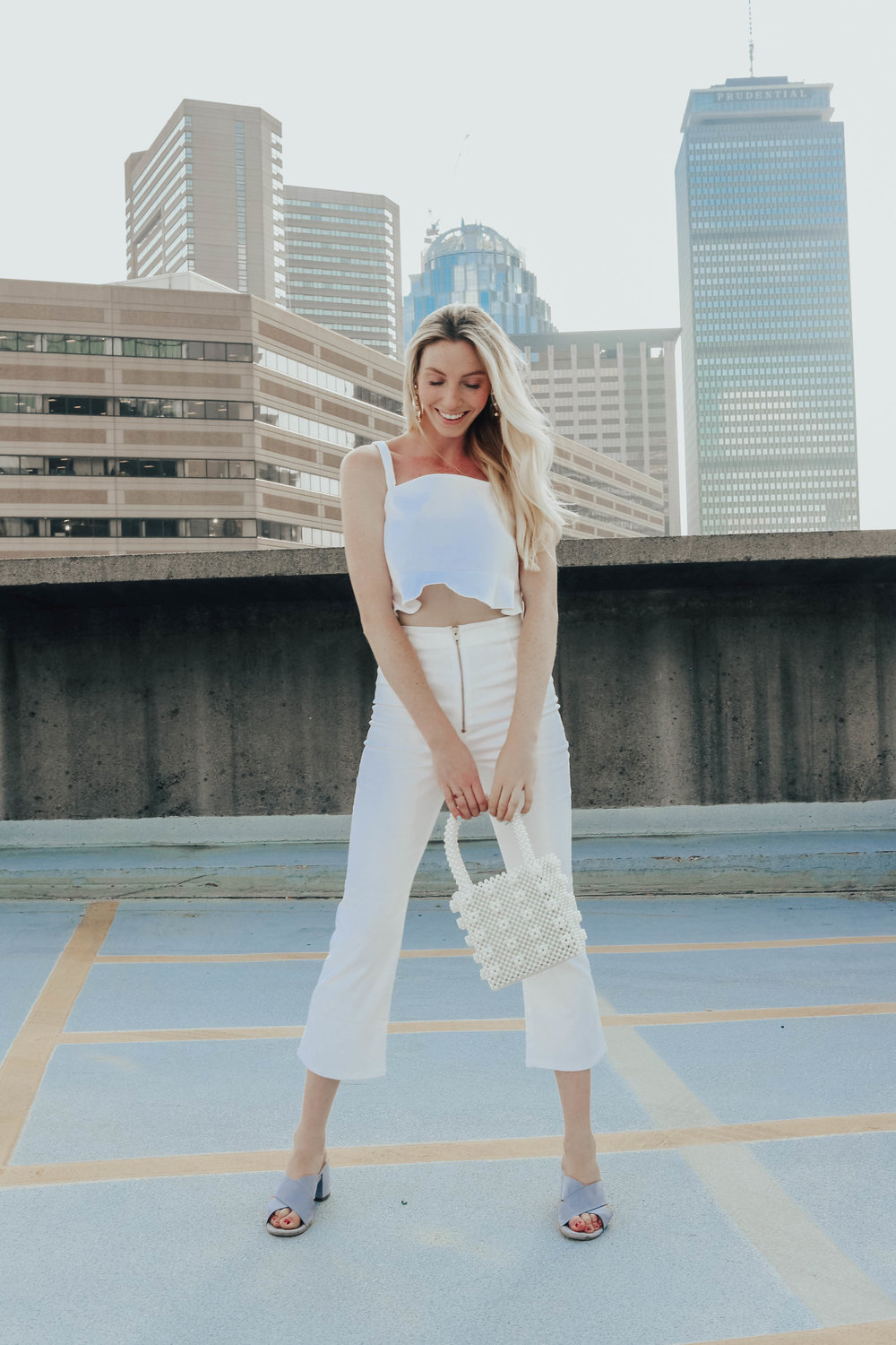 White Two-Piece Set | @maevestier