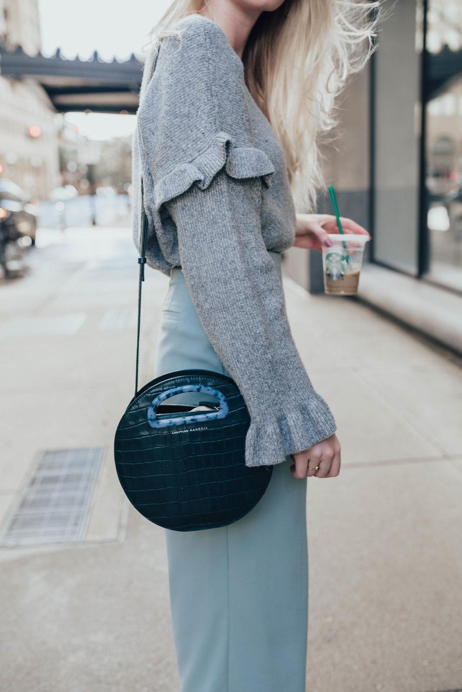 Loeffler Randall Circle Bag | @maevestier
