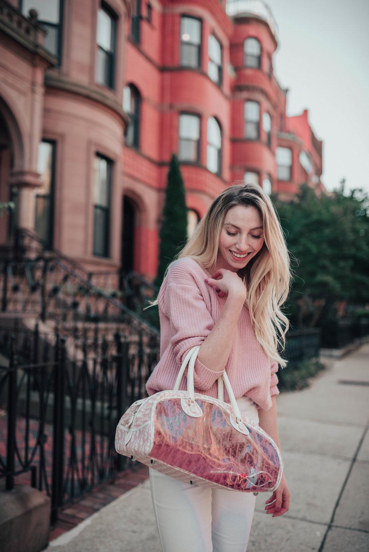 Dior PVC Bag | @maevestier