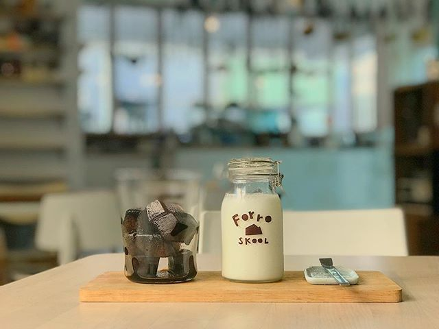 ☕️ 冰磚歐蕾 🥛 小學生冰咖啡的進化版👶🏻➡️👦🏻 是否該給他一個暱稱「中學生冰凍咖啡」?!❄️☃️ #forrocafe #冰磚歐蕾 #小學生冰咖啡 #中學生冰凍咖啡