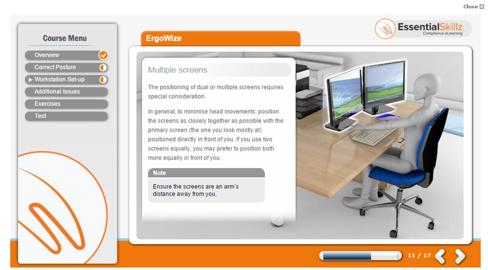 ErgoWize DSE eLearning