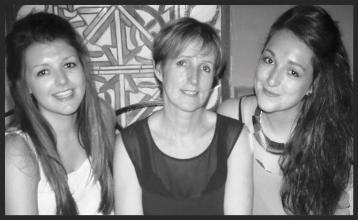 Hannah, Mum Bernie, and Terri