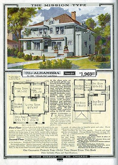 Original Sear's Roebuck Home.