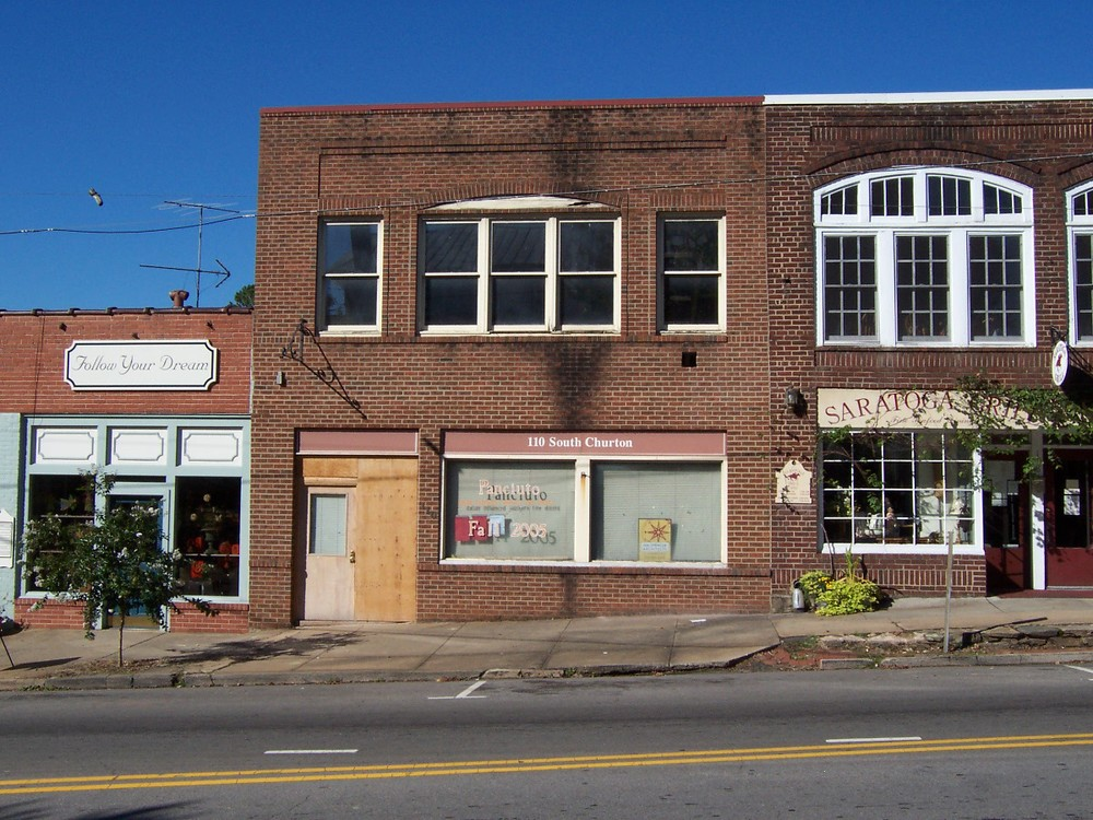existing building before renovations.