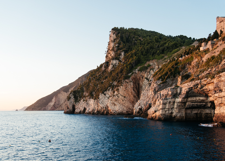 Coastline of Porto Venere.