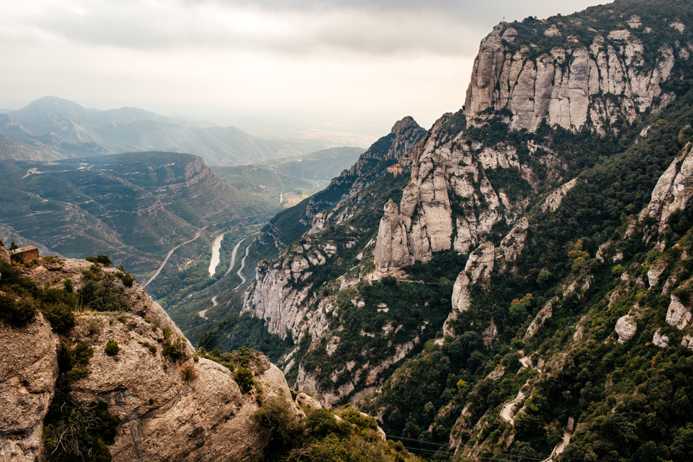 Valley of Montserrat.