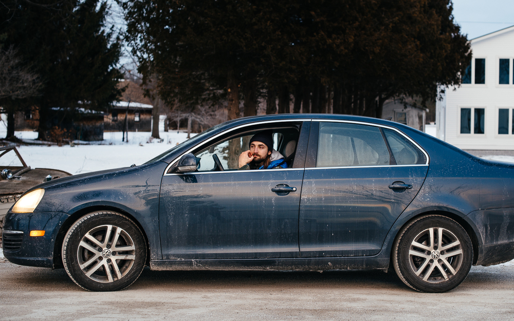 The journey continues to Isle La Mont in the Veggie-Powered VW, Jetta.
