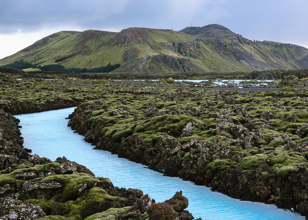 Blue Lagoon's water source.